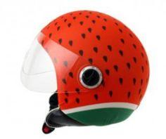 watermelon sandia helmetdress casco