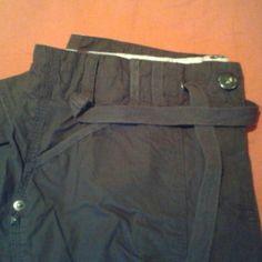 2d1cb2d40ef Capris Button and draw string Pants Capris Draw