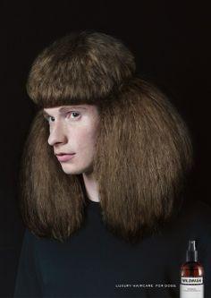 Luxury hair care.