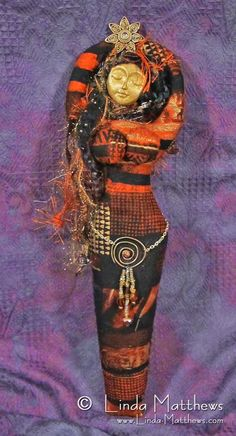 Spirit Art Doll - Linda Matthews: Textile Art & Design