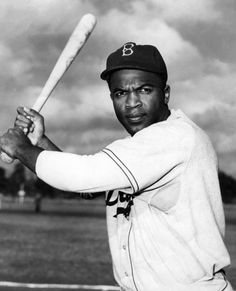 Jackie Robinson  He was the first African-American major league baseball player of the modern era in 1947 and ended 80 years of baseball segregation.
