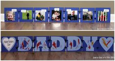 """What I Love about Dad"""" Father's Day Gift - Just a Girl and Her Blog"""