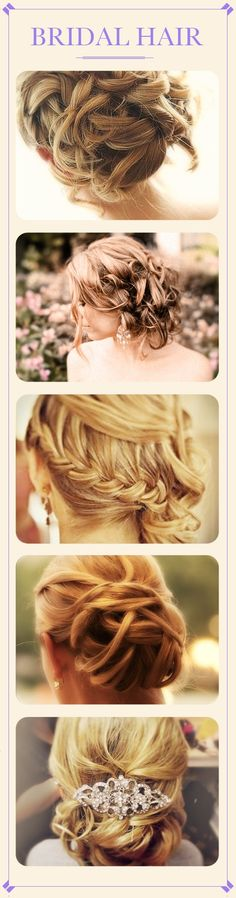 Different bridal hair