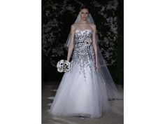 Carolina Herrera Eva wedding dress - beautiful!
