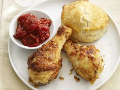 Drumsticks With Biscuits and Tomato Jam from #FNMag