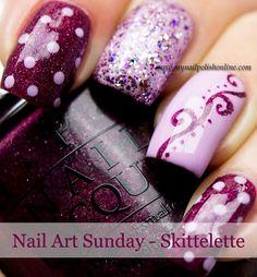 Nail Art Sunday – Skittelette