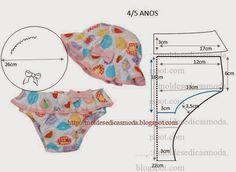 Moldes Moda por Medida: CUECA/FATO DE BANHO