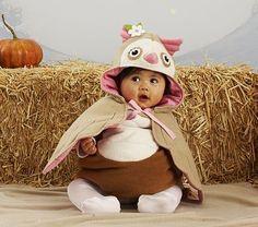 Owl baby costume!
