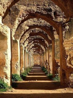 The Royal stables, Meknes (Morocco)