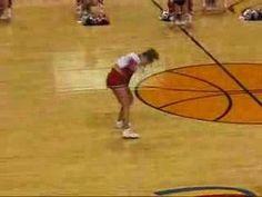 AMAZING! Cheerleading stunt - YouTube