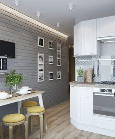 Фотография Beige Living Room Decor, Decor, Apartment Inspiration, Kitchen Design Small, Kitchen Remodel Small, Kitchen Design, Sweet Home, Home Decor, Modern Kitchen Design