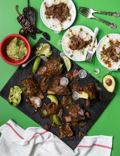Mexican Chili Braised Short Ribs
