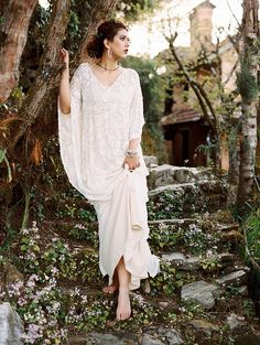 Bohemian chic bride // #helpnepal