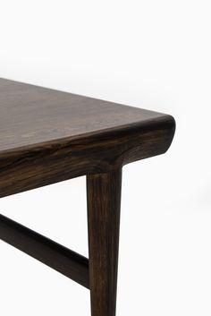 Johannes Andersen side tables in rosewood at Studio Schalling