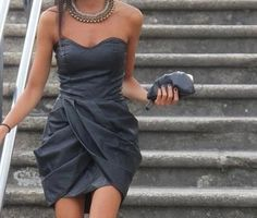 short and strapless