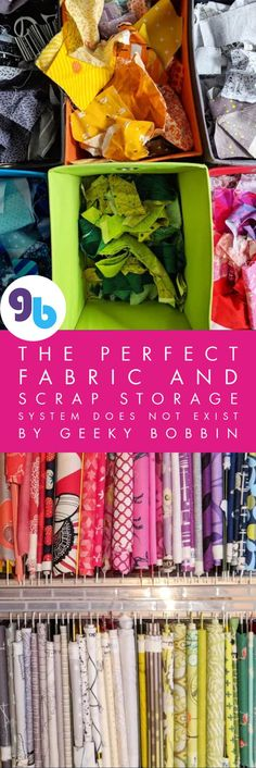 Great tips on folding fabric, sorting scraps, and storing your stash for the way that YOU quilt! Includes folding video that will change how you store your yardage!