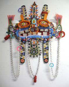 MICHAEL VELLIQUETTE : Paper Sculptures