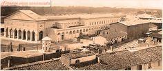 Stazione Maria Antonia foto antecedente alla distruzione,1930, per costruire la Stazione Santa Maria Novella.#Firenze