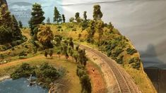 How to Make Easy Hills & Mountains for Model Train Layouts and Dioramas #modeltrainlayouts #modeltrainhowto