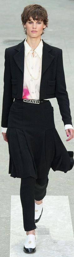 Chanel.Spring 2015 年。 1713  ファッション ブログ