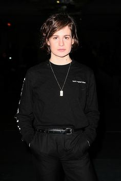 Christine and the Queens attends the Ami Alexandre Mattiussi Menswear Fall/Winter show as part of Paris Fashion Week on January 2017 in Paris, France. Matilda, Winter 2017, Fall Winter, Christine And The Queens, Character Bank, Queen Photos, Big Crush, January 21, Queen Hair