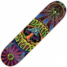 """Darkstar Trippy Skateboard Deck 7.75"""""""
