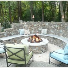 Backyard Fire Pit Design Ideas, Pictures, Remodel, and Decor - page 16