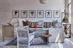 Paredes de ladrillos en color blanco para tu hogar - http://www.decoora.com/paredes-de-ladrillos-en-color-blanco-para-tu-hogar.html