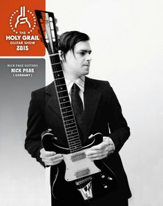 Exhibitor at the Holy Grail Guitar Show 2015: Nick Page, Nick Page Guitars, Germany. http://www.nickpageguitars.com, https://www.facebook.com/nickpage.guitars?_rdr=p, http://holygrailguitarshow.com/exhibitors/nick-page-guitars/