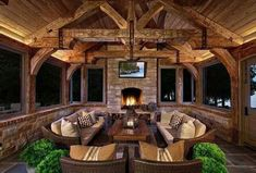 Rustic Outdoor Fireplaces, Outdoor Fireplace Designs, Backyard Fireplace, Small Fireplace, Outdoor Rooms, Outdoor Living, Outdoor Kitchens, Rustic Outdoor Spaces, Outdoor Patios