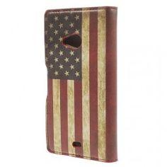 Lumia 535 Yhdysvaltojen lippu puhelinlompakko