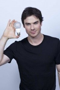Ian Somerhalder Lights Up