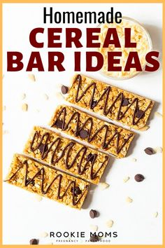 Have the kids take a break from their electronic and let their culinary expertise free with this fun and simple idea! This quick and easy Cereal Bar Recipe is great for kids and adults alike. And it's a perfect recipe to make together with your little ones. Make them as simple peanut butter cereal bars or follow one of the many modification suggestions to make them uniquely yours. #treats #healthyrecipes #easyrecipes