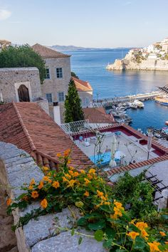 This would be my vacation home. Seaside, Hydra, Greece photo via kourtney Oh The Places You'll Go, Places To Travel, Places To Visit, Beautiful Islands, Beautiful Places, Wonderful Places, Zakynthos, Myconos, Greek Isles