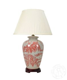 Red Willow Lamp