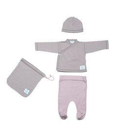 Grey & Pink Newborn Pack by Micu Micu on #zulily