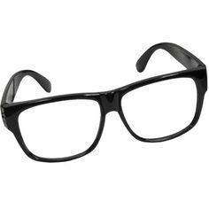 Black Nerd Glasses Frames ($2.25) ❤ liked on Polyvore