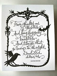 Scottish Proverb For Ole Hallows Eve Halloween Photos Signs Outfits