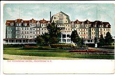 Frontenac Hotel on Round Island 1,000 Islands NY