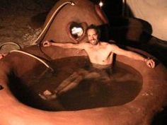 It's cool that you handcrafted that cob hot tub entirely out of mud and cow shit, but could we get a picture of it without your skinny hippy ass in it?