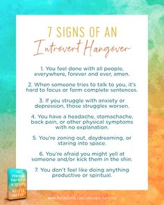 7 Signs of an Introvert Hangover Infj, Introvert, Neurotransmitters, Willpower, Self Discovery, Feeling Overwhelmed, Be A Better Person, To Focus, Talking To You