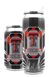 Texas Tech Red Raiders Stainless Steel Thermo Can - 16.9 ounces