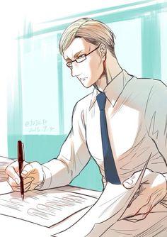 Erwin Smith. Shingeki no Kyojin High. Attack on Titan High