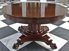 Awesome Expandable Round Dining Table Design