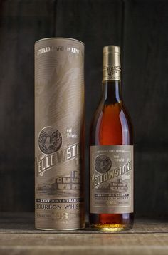 Yellowstone Select Kentucky Straight Bourbon by David Cole Creative