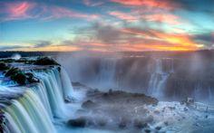 Водопады Игуасу - одно из 7 природных чудес