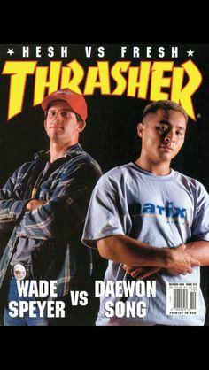 Cover of Thrasher. Wade Speyer