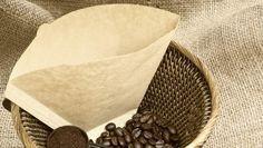 Je hebt misschien wel net koffie gemaakt met zo'n bruine, papierachtige…