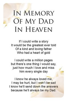 130 Best Letter to dad images in 2019 | Miss you dad