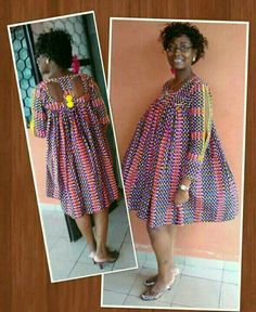 Love this and wanna make it or you& a fashion designer looking for good ta. Latest African Fashion Dresses, African Dresses For Women, African Print Dresses, African Attire, African Wear, Kente Styles, Maternity Fashion, Spring Maternity, Casual Maternity